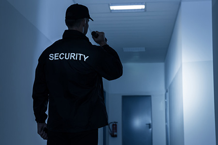 fire watch security guard