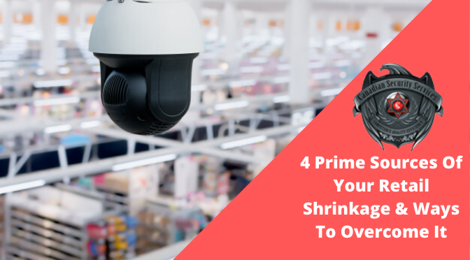 4 Prime Sources Of Your Retail Shrinkage & Ways To Overcome It