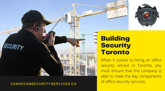 What are the Key Components of Office Building Security?